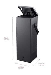 "LG HU80KG - Proyector láser UHD 4K de 150"""