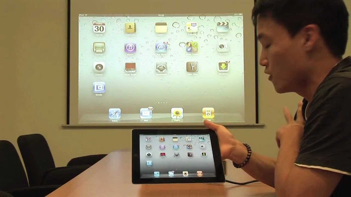 conexion wireless sin cable wifi bluetooth ipad a proyector TV