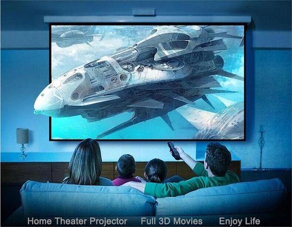 proyector 4k resolucion nativa y 3D