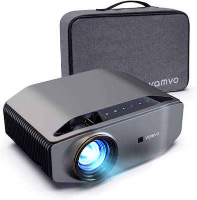 Vamvo Proyector Nativo 1080p Full HD 6000 Lux con Dolby